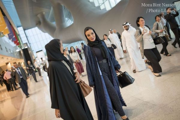 HH Sheikha Moza attends closing session of WISH 2018
