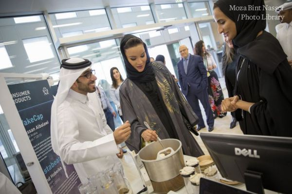 HH Sheikha Moza at Stars of Science 10 Year Anniversary event