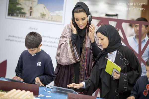 HH Sheikha Moza visits 29th Doha International Book Fair