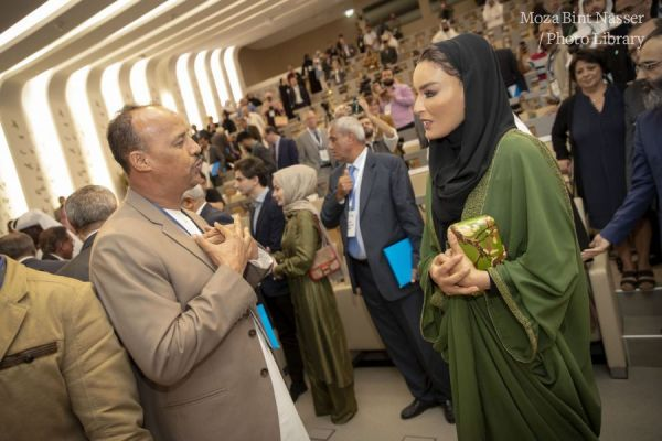 HH Sheikha Moza attends opening of Renaissance Questions conference at HBKU
