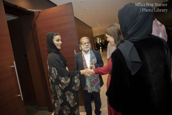 صاحبة السمو الشيخة موزا تشهد حفل الذكرى العاشرة لتأسيس أوركسترا قطر الفلهارمونية