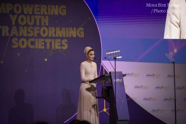 صاحبة السمو الشيخة موزا تشارك في حدث رفيع المستوى لمؤسسة صلت