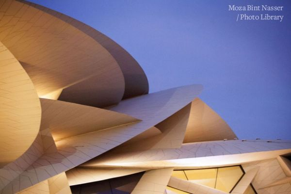أصحاب السمو يحضرون الافتتاح الرسمي لمتحف قطر الوطني