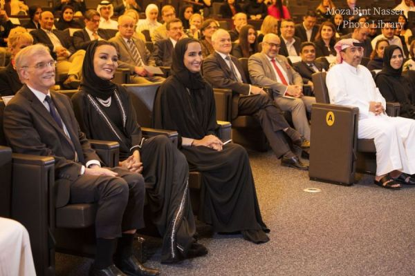 HH Sheikha Moza Attends Celebration of Georgetown University in Qatar's Research Impact