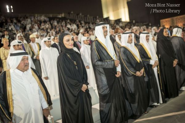 HH the Amir attends the 2019 Qatar Foundation Convocation