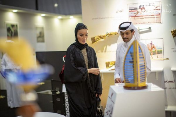 HH Sheikha Moza visits third edition of Najah Qatari festival