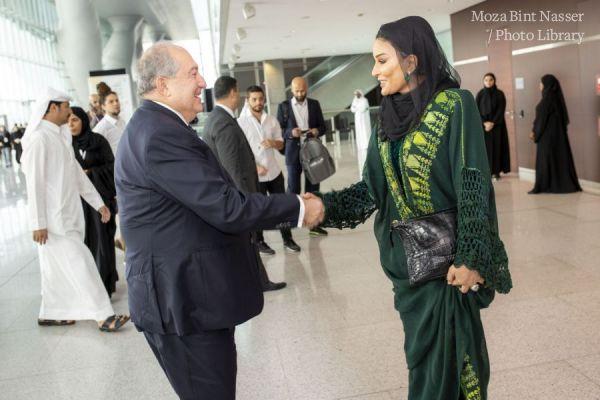 HH Sheikha Moza attends WISE 2019