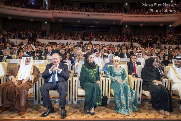 صاحبة السمو الشيخة موزا تحضر مؤتمر قمة وايز 2019