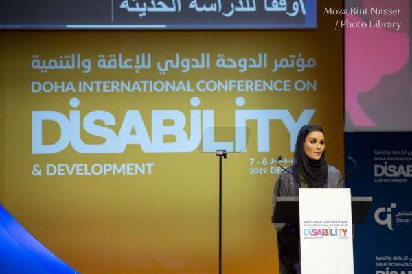 HH Sheikha Moza opens Doha International Conference on Disability and Development