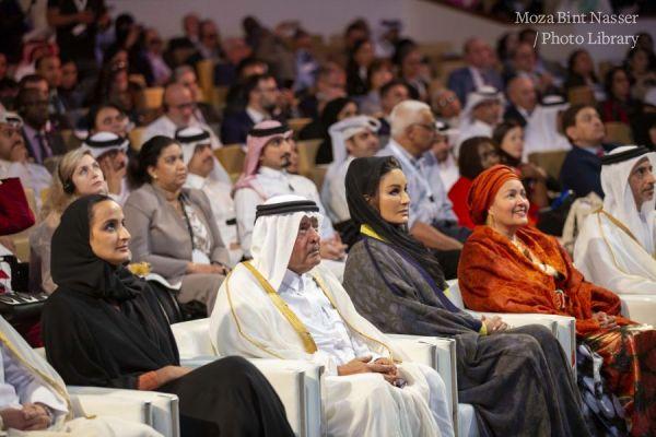 صاحبة السمو الشيخة موزا تفتتح مؤتمر الدوحة الدولي للإعاقة والتنمية