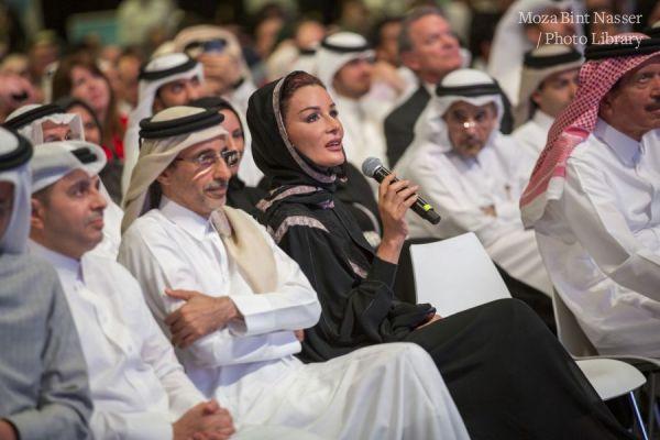 """صاحبة السمو الشيخة موزا تشارك في فعالية """"مؤسستي"""""""