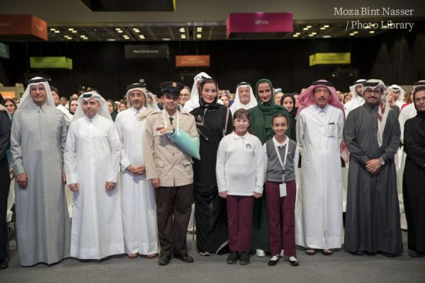 "HH Sheikha Moza participates in ""I AM QF"" event"