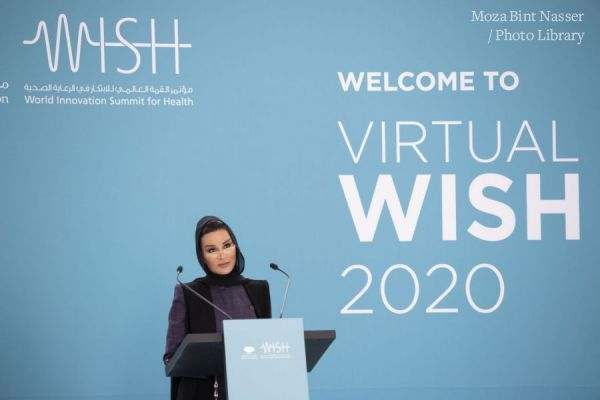 HH Sheikha Moza participates in WISH 2020 opening session