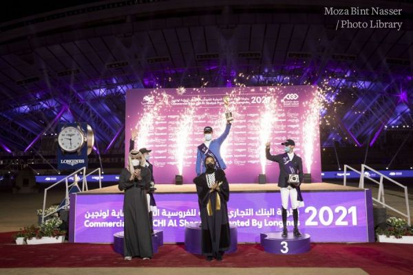 HH Sheikha Moza crowns winner of CHI Al Shaqab